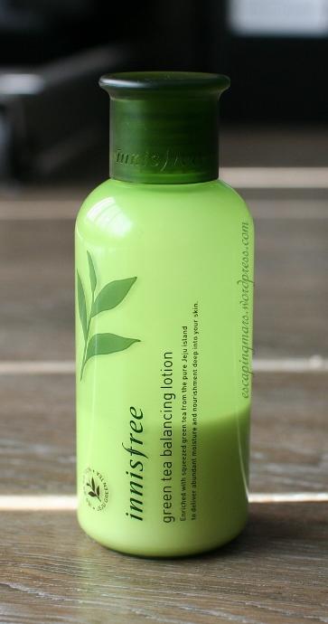 Innisfree Green Tea Balancing Lotion