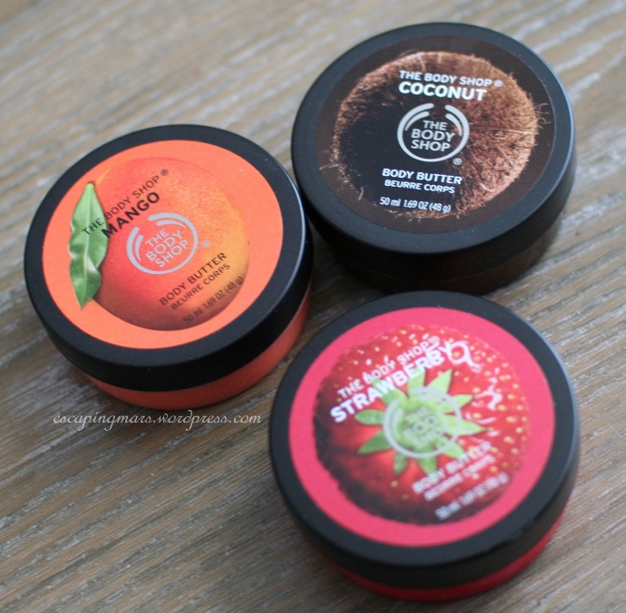 Body Shop Body Butter Minis