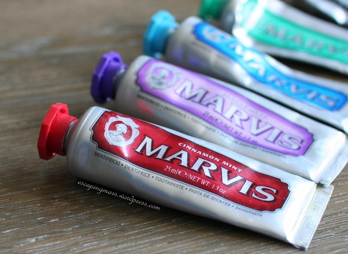 Marvis Toothpaste Row