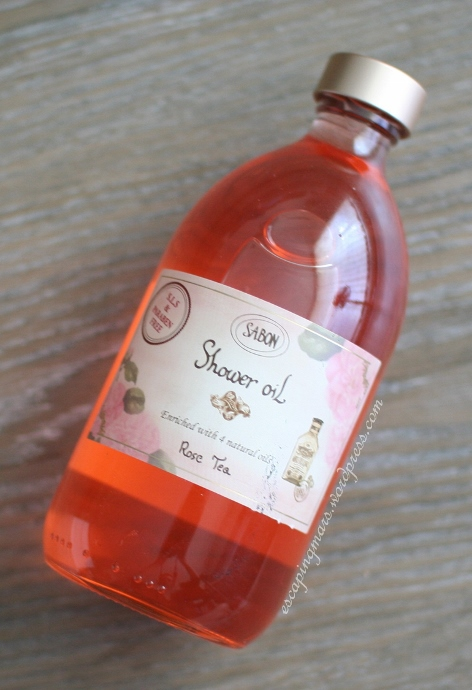 Sabon Rose Tea Shower Oil