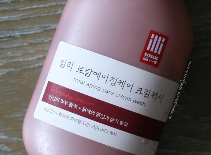 illi total aging cream wash