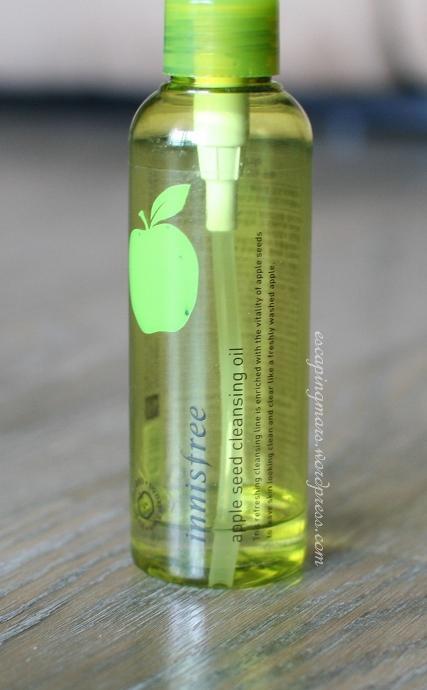 innisfree apple cleansing oil