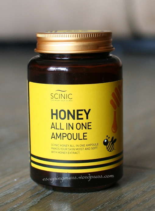scinic honey ampoule
